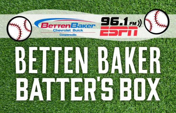 None - WIN Baseball Tickets With ESPN 96.1's Betten Baker Batter's Box