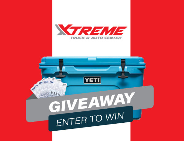 None - WIN the YETI Cash Cooler Plus $250 in Gift Cards!