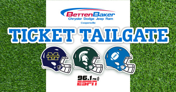 None - The Betten Baker Coopersville Ticket Tailgate