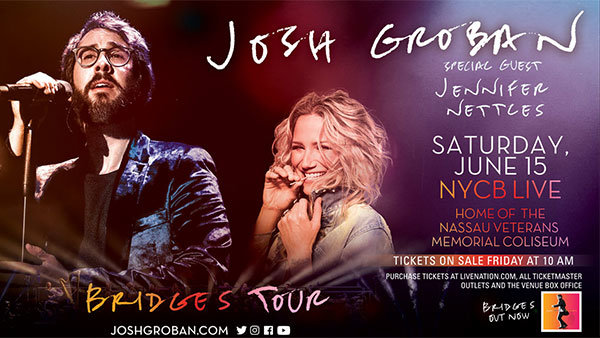 None - Enter to Win a Pair of Tickets to See Josh Groban