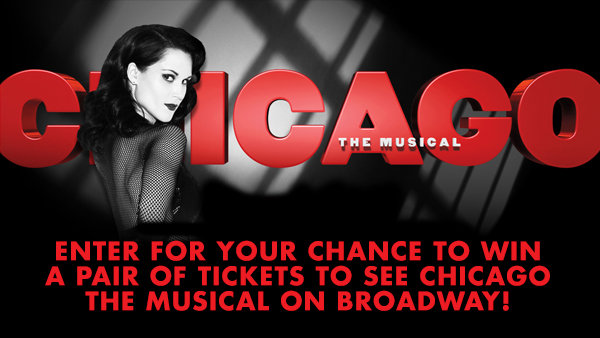 None -  Win A Pair of Tickets to See Chicago the Musical on Broadway!