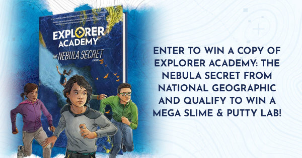 None -  Enter To Win a Copy Of Explorer Academy: The Nebula Secret From National Geographic