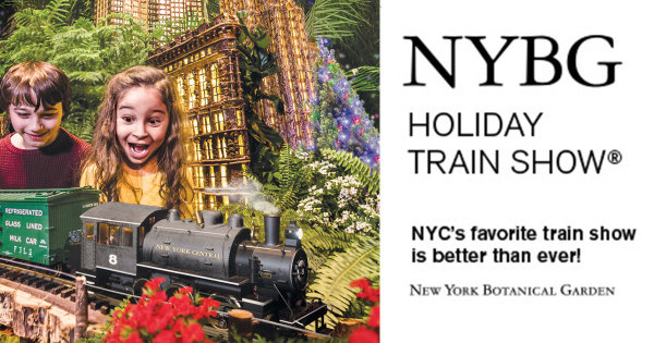 None -  Win A Family Four Pack Of Tickets To The Holiday Train Show® At The New York Botanical Garden!