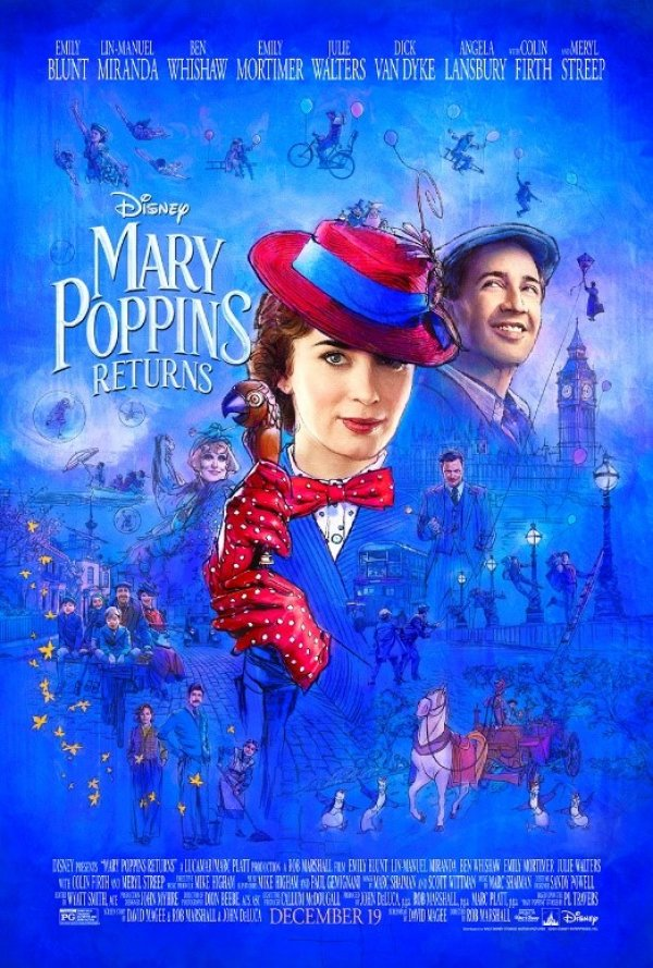 None - Enter To Win A Pair Of Passes To The Advance Screening Of Mary Poppins Returns in NYC On 12/17!