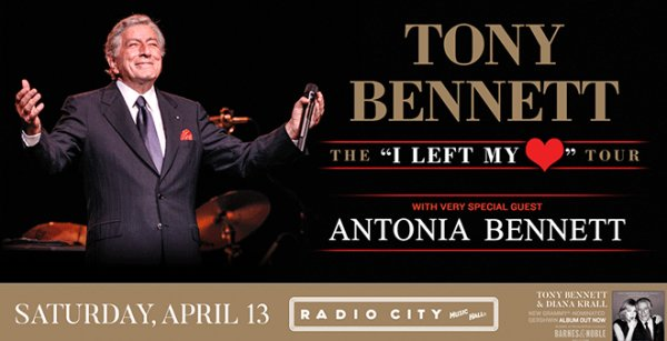 None -  Win Tickets To See Tony Bennett!