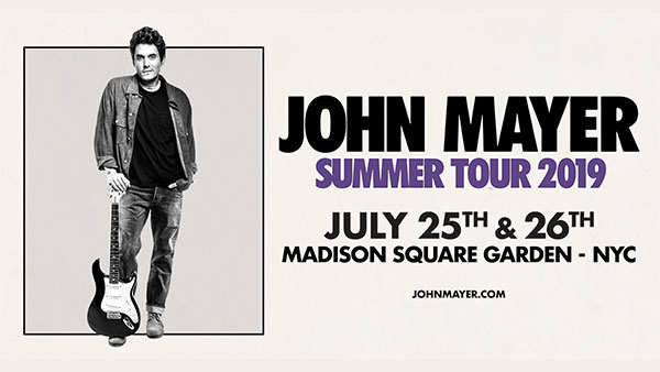 None - Enter To Win Tickets To See John Mayer