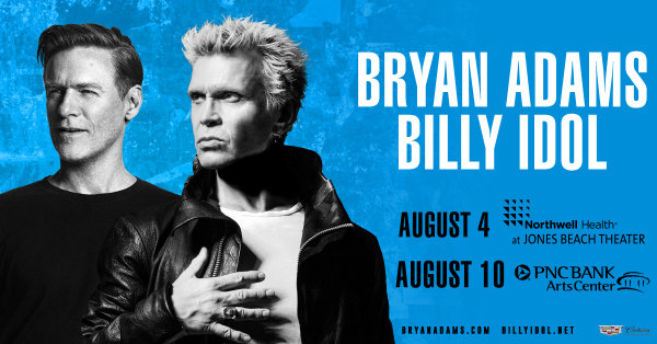 None - Win Tickets to see Bryan Adams and Billy Idol
