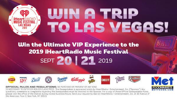 None - Win a Trip to the 2019 iHeartRadio Music Festival