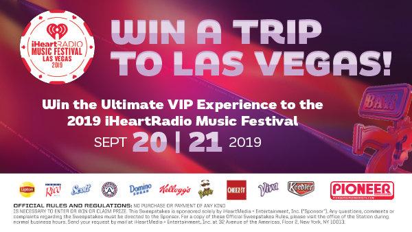 None - Win a Trip to the 2019 iHeartRadio Music Festival (clone)