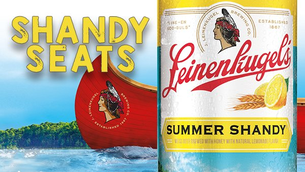 Sit in the Leinenkugel's Shandy Seats at Live at the Lake!