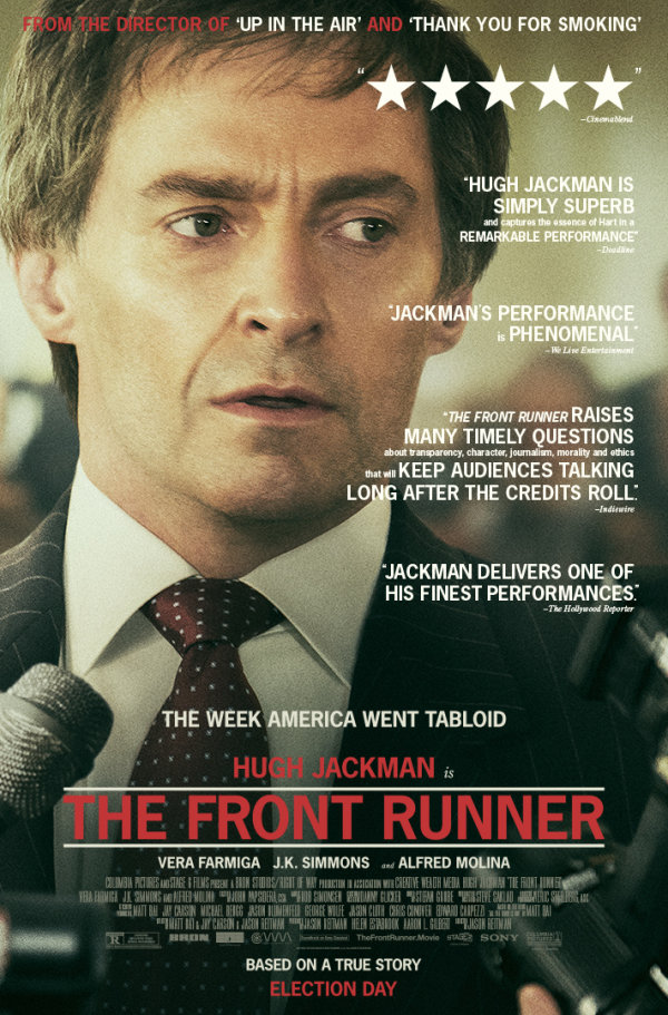 None - Enter to win passes to see The Front Runner