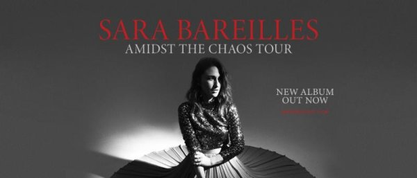 None - Enter to win tickets to see Sara Bareilles!