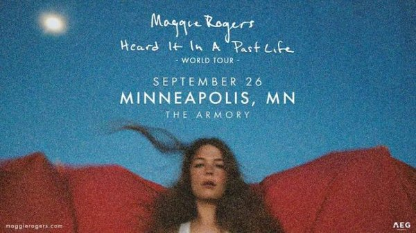 None - Enter to win tickets to see Maggie Rogers!