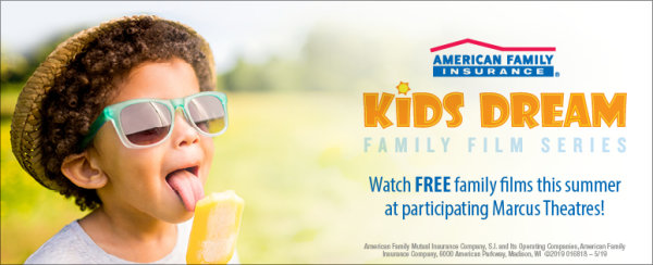 None - Enter to Win a Family 4 Pack of Tickets for the Kids Dream Summer Film Series!