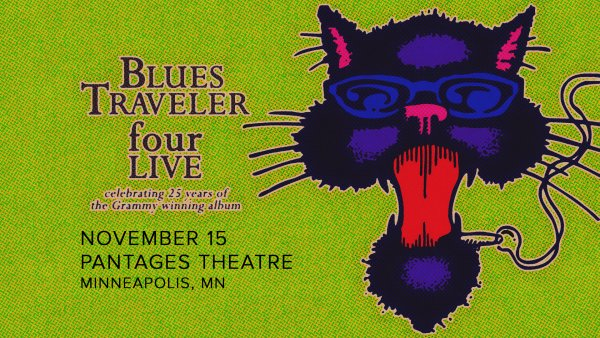 None - Enter to Win Tickets to BLUES TRAVELER: FOUR LIVE TOUR!
