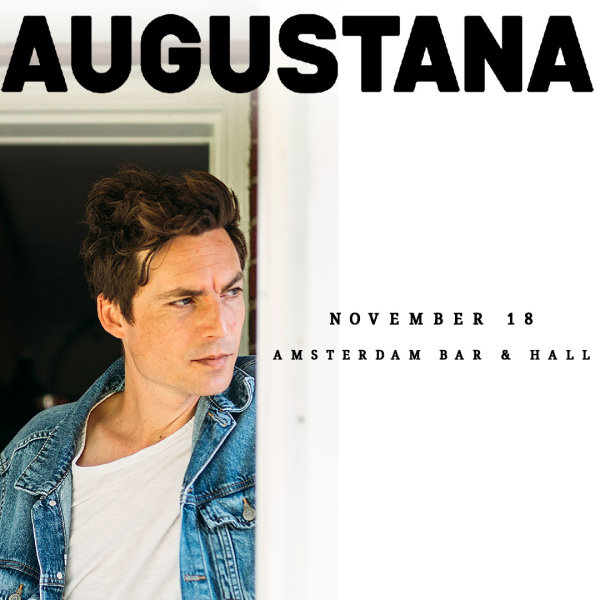 None - Enter to win a pair of tickets to see Augustana!