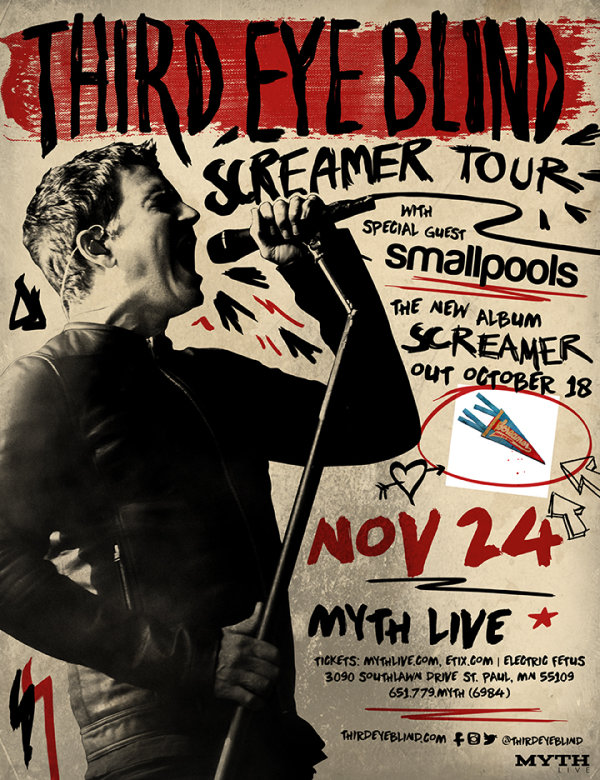 None - Enter to win tickets to see Third Eye Blind at MYTH LIVE!