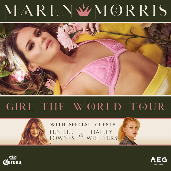 None - Enter to win a pair of tickets to see Maren Morris!