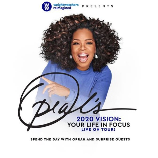 None - Enter to win a pair of tickets to see Oprah!