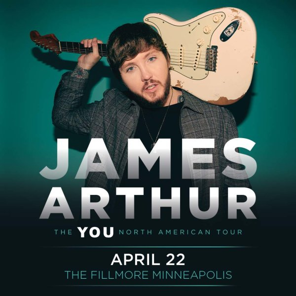 None - Enter to win a pair of tickets to see James Arthur!