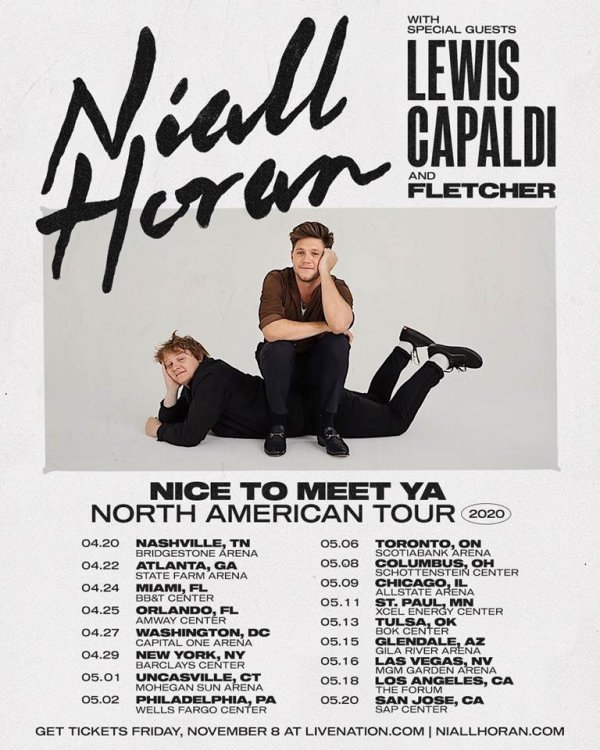image for Enter to win a pair of tickets to see Niall Horan!