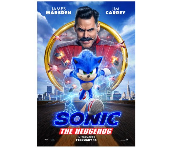 None - Enter to win a family 4 pack to see an advanced screening of SONIC THE HEDGEHOG!