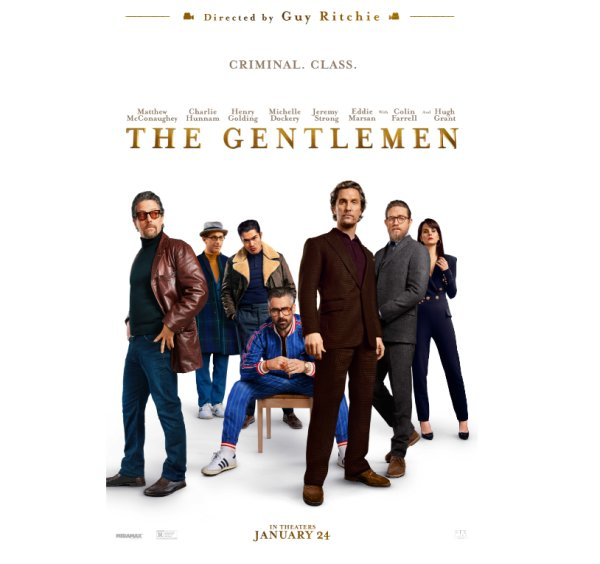 None - Enter to win advanced screening passes to THE GENTLEMEN!
