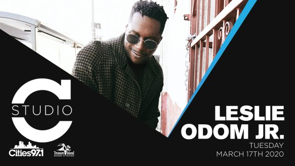 image for Enter to win a pair of passes to see Leslie Odom Jr. in Studio C!