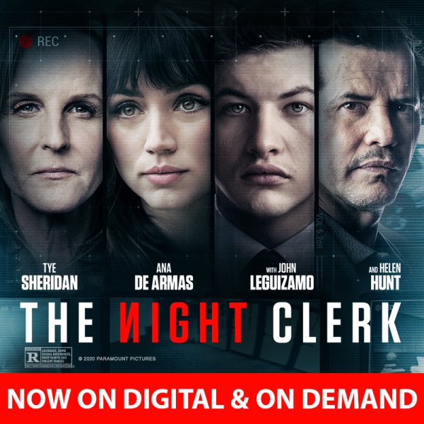 image for Enter to win a digital download of The Night Clerk!