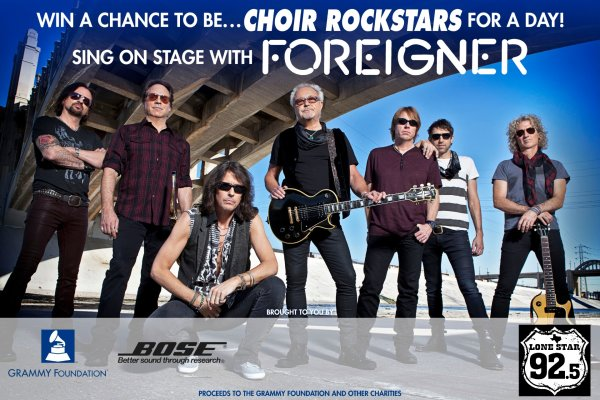 None - Foreigner Choir Contest!