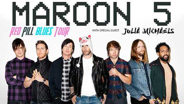 939 lite fm contests tickets trips more 939 lite fm enter to win tickets to see maroon 5 red pill blues tour 2018 m4hsunfo