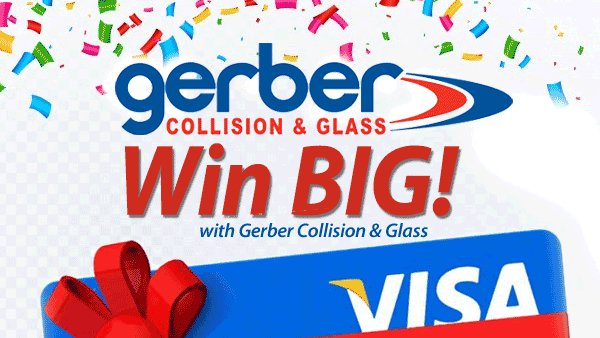 None -  Enter to win $100 Visa Gift Card from Gerber Collision & Glass