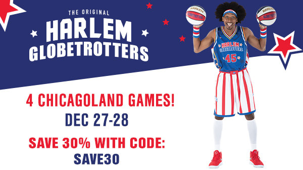 None -   Enter to win a 4 pack of tickets/VIP Magic Pass for the Harlem Globetrotters!