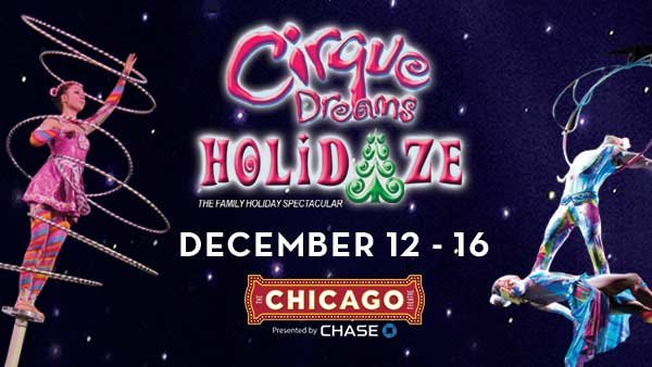 None -    Enter to win an Ultimate holiday DREAM pack to Cirque Dreams Holidaze, The Chicago Theatre!