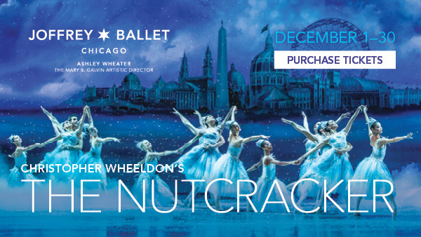 None -   Enter for a chance to win a 4 pack of tickets to see the Joffrey Ballet's Nutcracker in December!