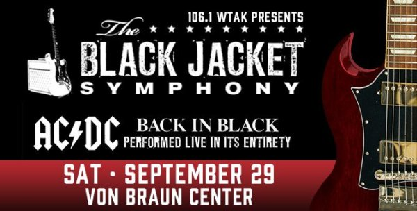 Black Jacket Symphony Tickets!