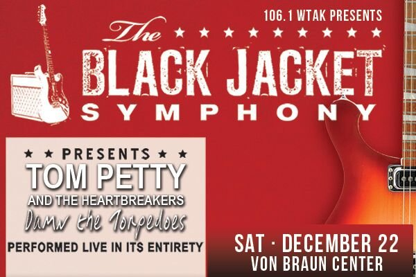 None - Register to win tickets to the Black Jacket Symphony