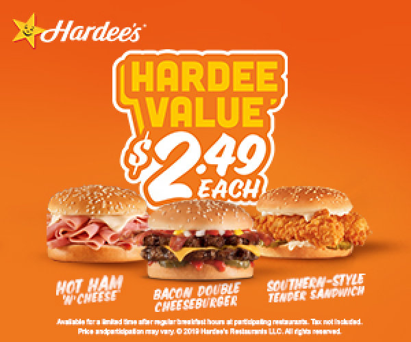 None - Hardees office Giveaways