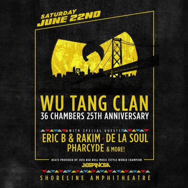 None - Wu Tang Clan at Shoreline Amphitheatre!