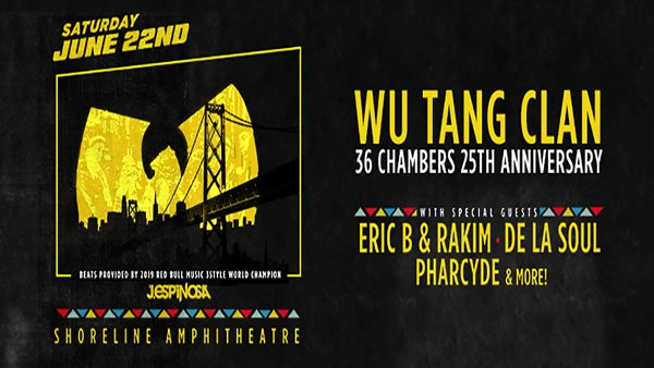 None - Wu Tang Clan at Shoreline Amphitheatre!