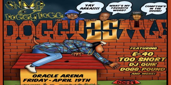 None - You Won't Want to Miss Snoop Dogg at The Oracle Arena!