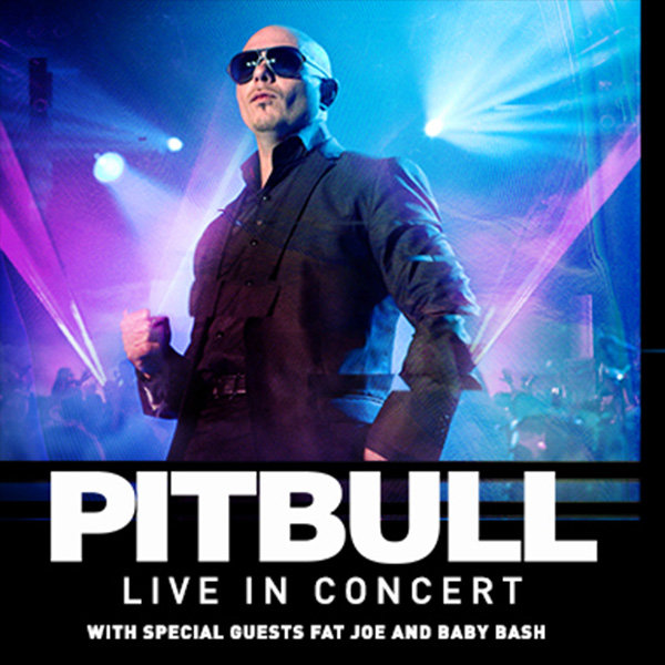 None - Pitbull at Shoreline Amphitheatre!