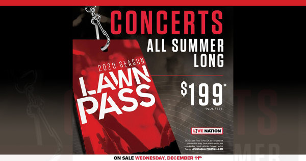 None - CONCERTS ALL SUMMER LONG!