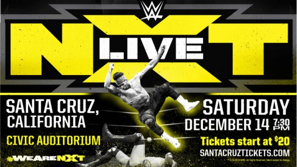None - NXT live in Santa Cruz