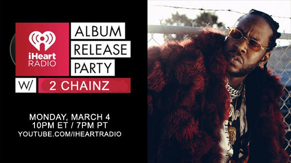 None - iHeartRadio Album Release party with 2 Chainz (3/4) (Pair)