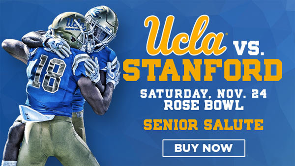None - UCLA vs Stanford Cardinal at Rose Bowl (11/24) (4-pack)