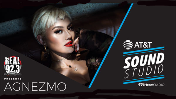 None - REAL 92.3 presents Agnez Mo Live inside our AT&T Sound Studio (11/21) (PAIR)