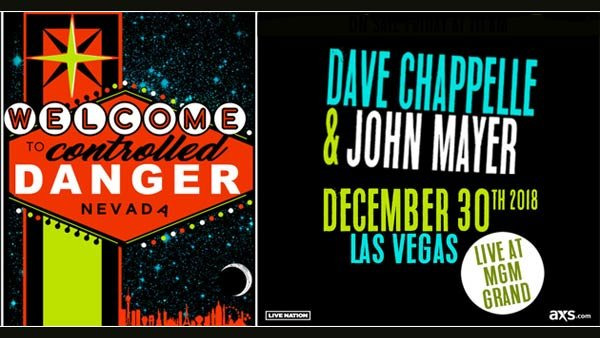 None - Dave Chappelle & John Mayer's Controlled Danger in Las Vegas (12/30)