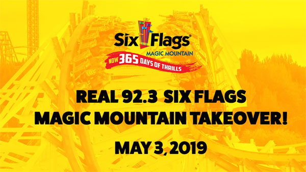 None - REAL 92.3 Six Flags Magic Mountain Takeover (5/3) (4-pack)