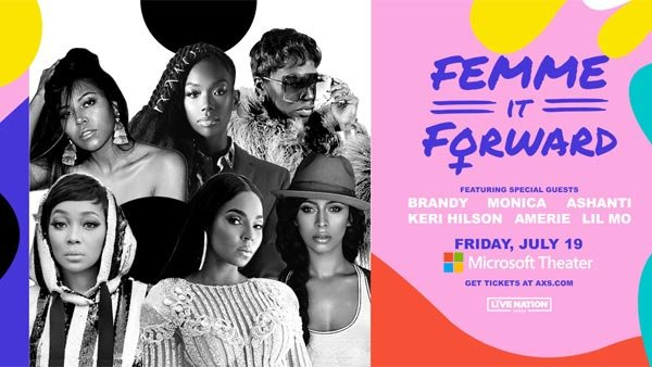 None - Femme It Forward at Microsoft Theater (7/19) (Pair)